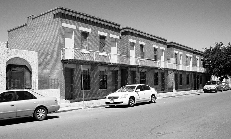 Palmore. Tenement. Contemporary Photo copy