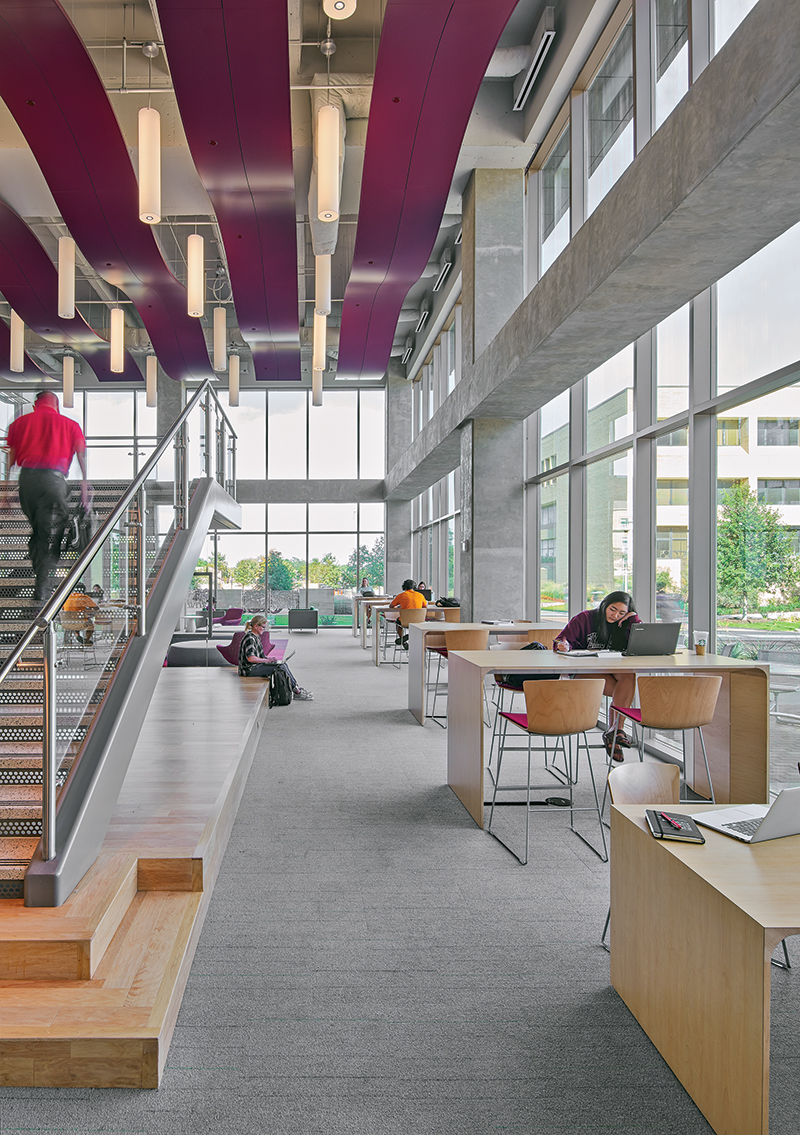 TAMU Zachry Engineering Education Complex 2nd floor collaboratio