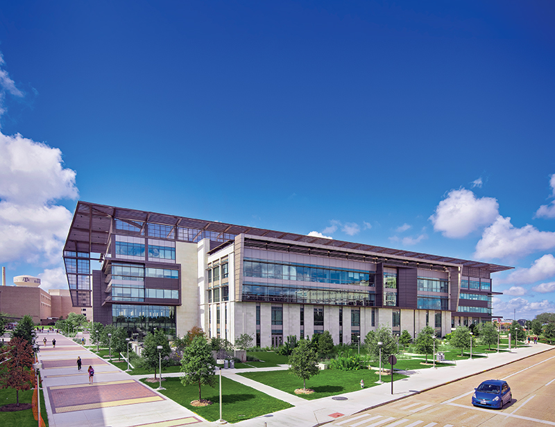 TAMU Zachry Engineering Education Complex E_Quad from building copy