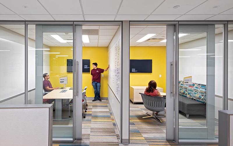TAMU Zachry Engineering Education Complex office huddle room2 copy