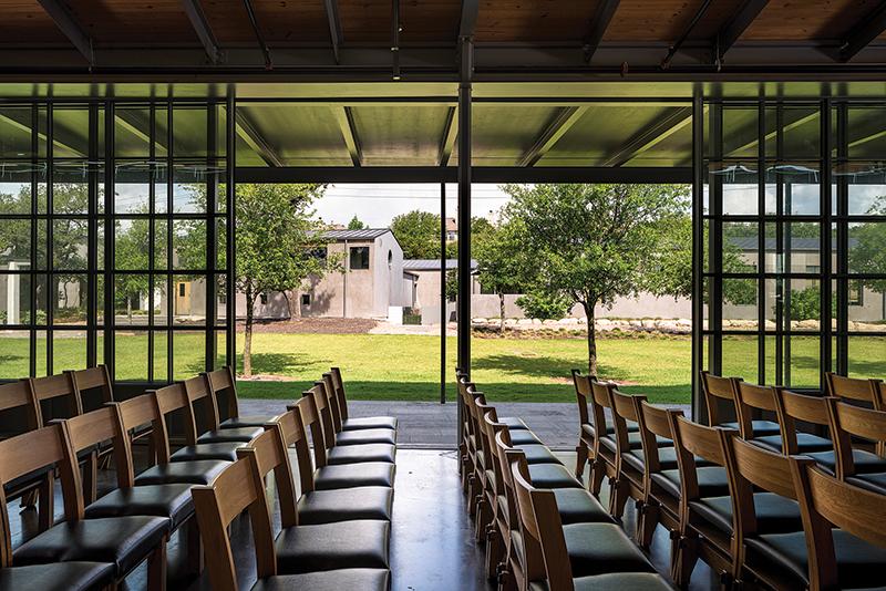 All_Saints_Presbyterian_Church_05_Interim_Sanctuary Sliding_Walls