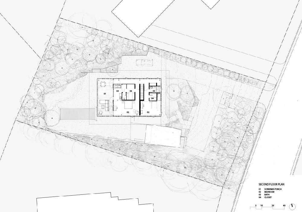 Resized BalconesHouse_second floor plan keyed