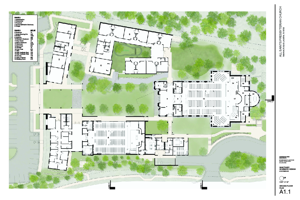 Resized Keyed Ground Floor Plan