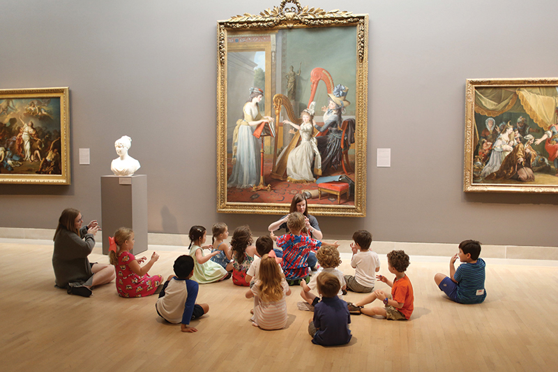 DMA_Visitors, Summer Camp_Courtesy of Dallas Museum of Art