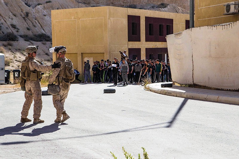 26th MEU Embassy Reinforcement Training Day 3: Personnel Evacuation