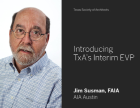 Jim Susman Named TxA Interim EVP