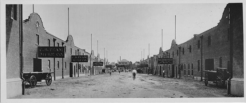 IA Stockyards5 600dpi- Mule Alley 1920s