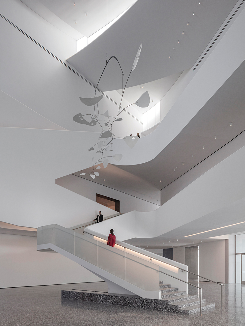 7. The Nancy and Rich Kinder Building at the Museum of Fine Arts, Houston, atrium.