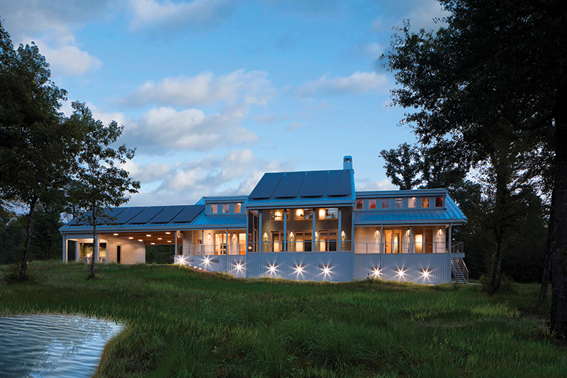 1451 / Zabik Residence, Magnolia, TX / Adams Architects