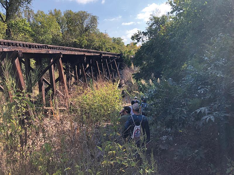Red Bud trestle bridge