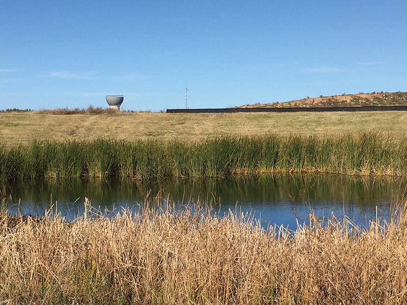 mueller SE lake water tower
