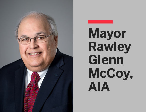 Mayor Rawley Glenn McCoy, AIA: 1950–2021