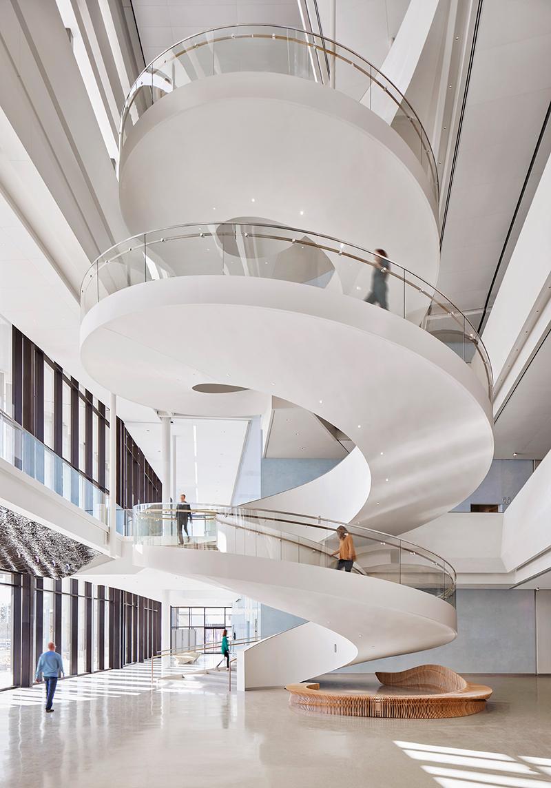 11-Buddy Holly Hall Lobby Staircase