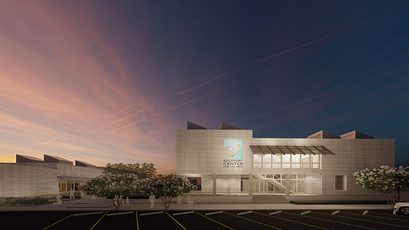 Rockport Center for the Arts_veiw from Austin St_Richter Architects