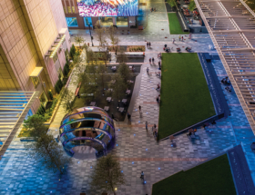 Dallas' AT&T Discovery District Mixes Media and Walkable Urbanism